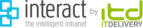 Interact Intranet by IT Delivery Retina Logo